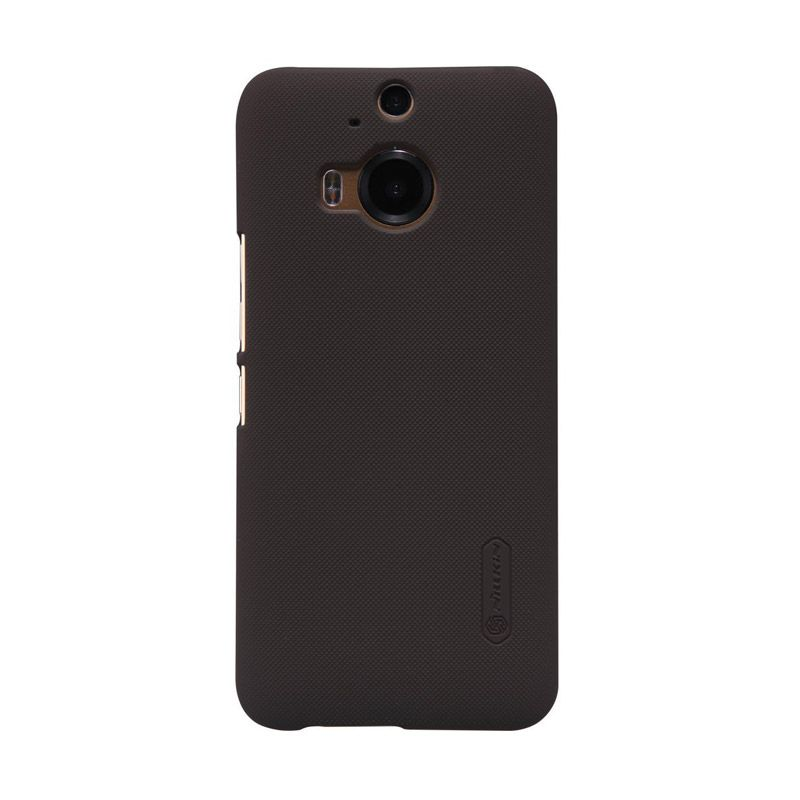 Nillkin Super Frosted Shield Brown Casing for HTC One M9 Plus