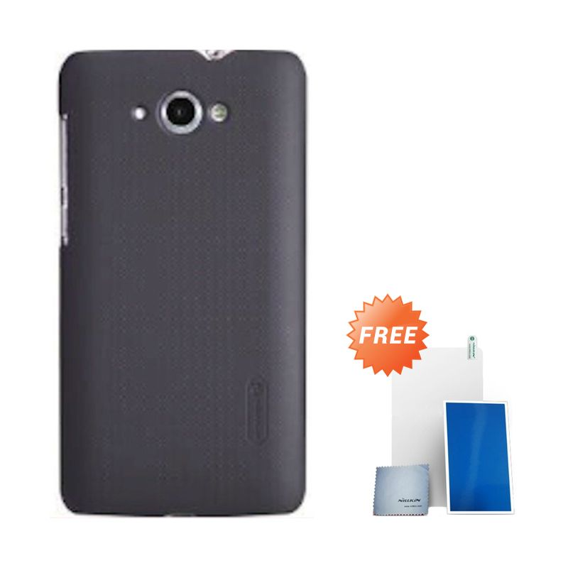 Nillkin Super Frosted Shield Brown Casing for Lenovo S930 + Screen Protector