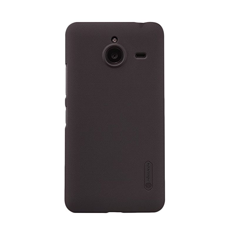 Nillkin Super Frosted Shield Brown Casing for Nokia Lumia 640 XL