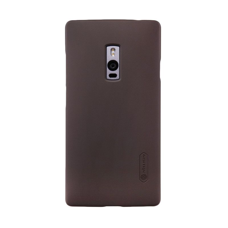 Nillkin Super Frosted Shield Brown Casing for OnePlus 2