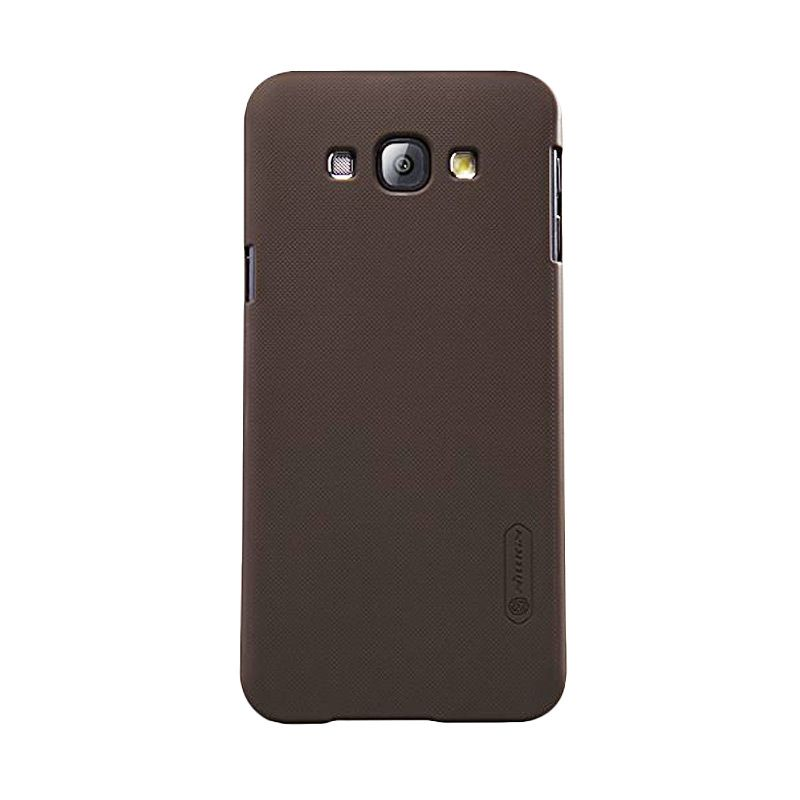 Nillkin Super Frosted Shield Brown Casing for Samsung Galaxy A8 A8000