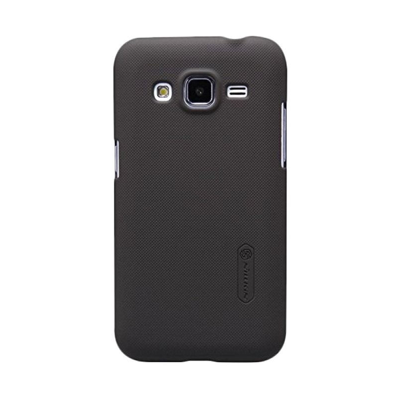 Nillkin Super Frosted Shield Brown Casing for Samsung Galaxy Core Prime