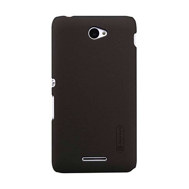 Nillkin Super Frosted Shield Brown Casing for Sony Xperia E4