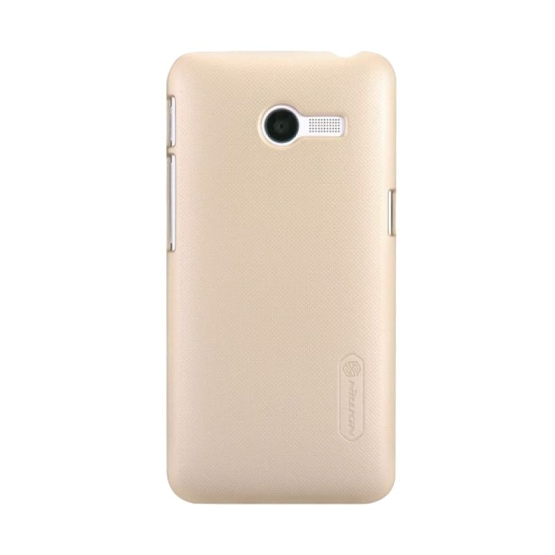 Nillkin Super Frosted Shield Gold Casing for Asus Zenfone 4 1600 + Screen Protector