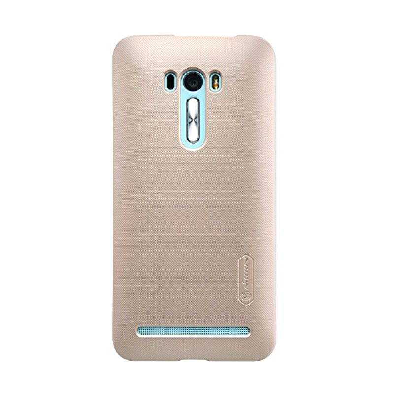 Nillkin Super Frosted Shield Gold Casing for Asus Zenfone Selfie ZD551KL
