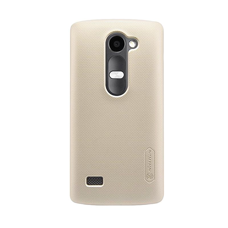 Nillkin Super Frosted Shield Gold Casing for LG Leon H324