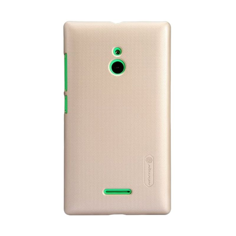 Nillkin Super Frosted Shield Gold Casing for Nokia XL
