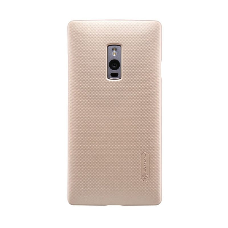 Nillkin Super Frosted Shield Gold Casing for OnePlus 2