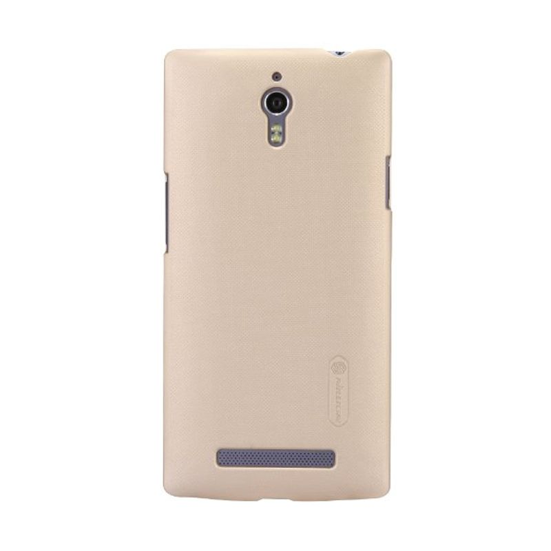 Nillkin Super Frosted Shield Gold Casing for Oppo R7 Plus