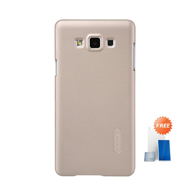 Nillkin Super Frosted Shield Gold Casing for Samsung Galaxy A7