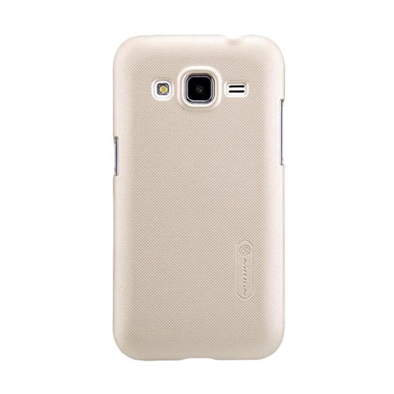 Nillkin Super Frosted Shield Gold Casing for Samsung Galaxy Core Prime