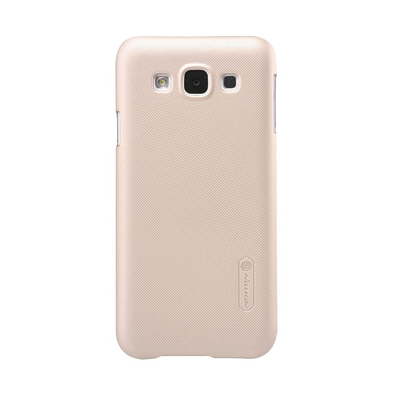 Nillkin Super Frosted Shield Gold Casing for Samsung Galaxy E5 E500