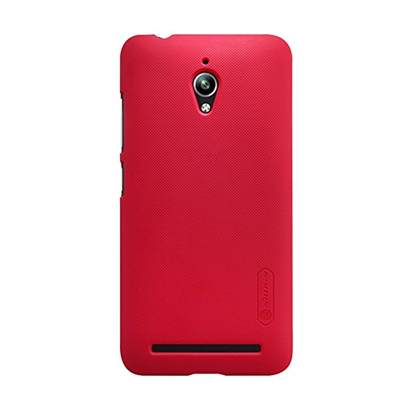 Nillkin Super Frosted Shield Red Casing for Asus Zenfone Go ZC500TG