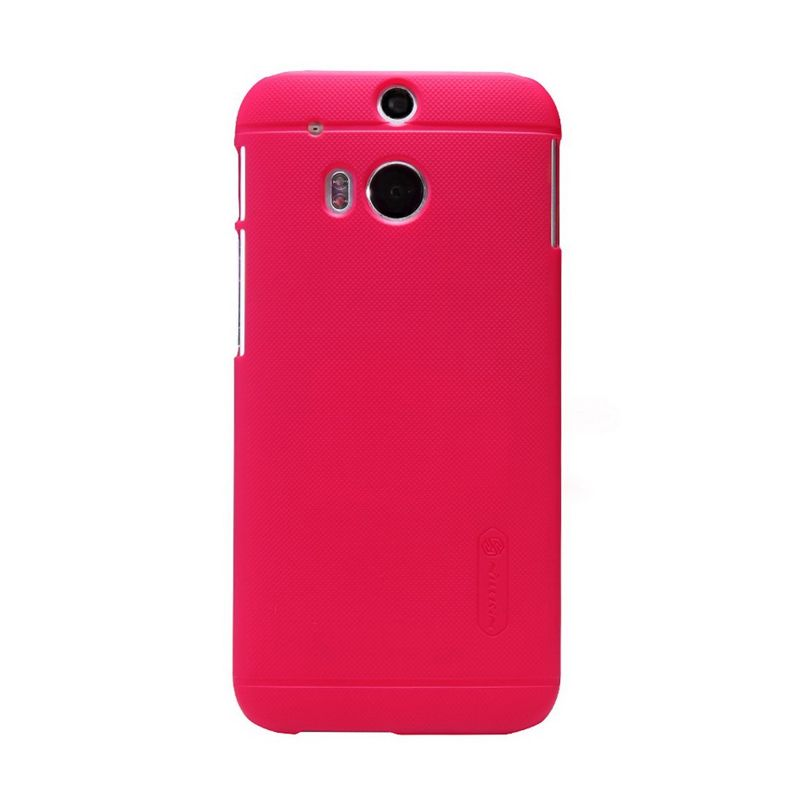 Nillkin Super Frosted Shield Red Casing for HTC One M8