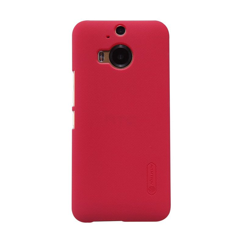 Nillkin Super Frosted Shield Red Casing for HTC One M9 Plus
