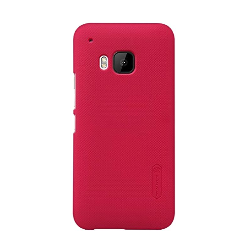 Nillkin Super Frosted Shield Red Casing for HTC One M9