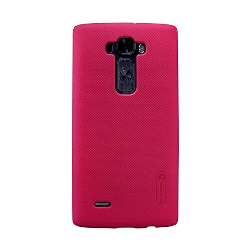 Nillkin Super Frosted Shield Red Casing for LG G Flex 2 [H959]