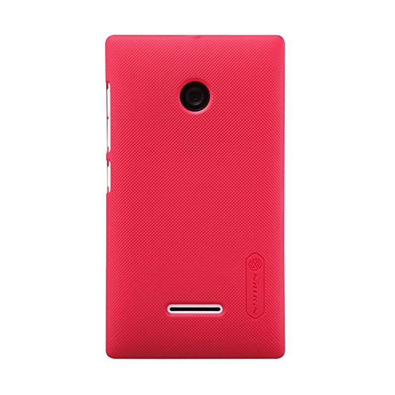 Nillkin Super Frosted Shield Red Casing for Nokia Lumia 435