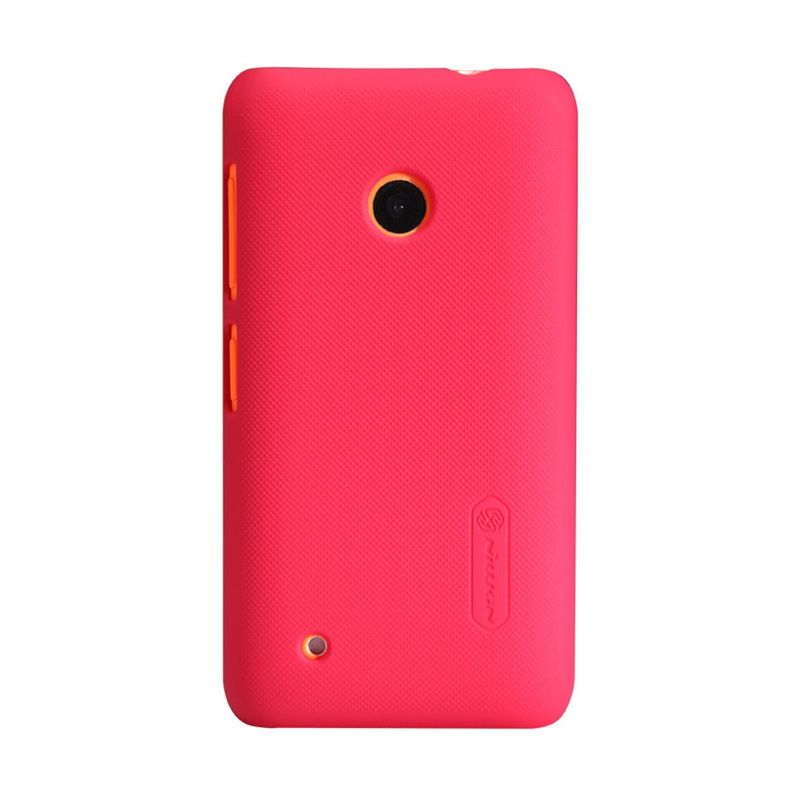 Nillkin Super Frosted Shield Red Casing for Nokia Lumia 530
