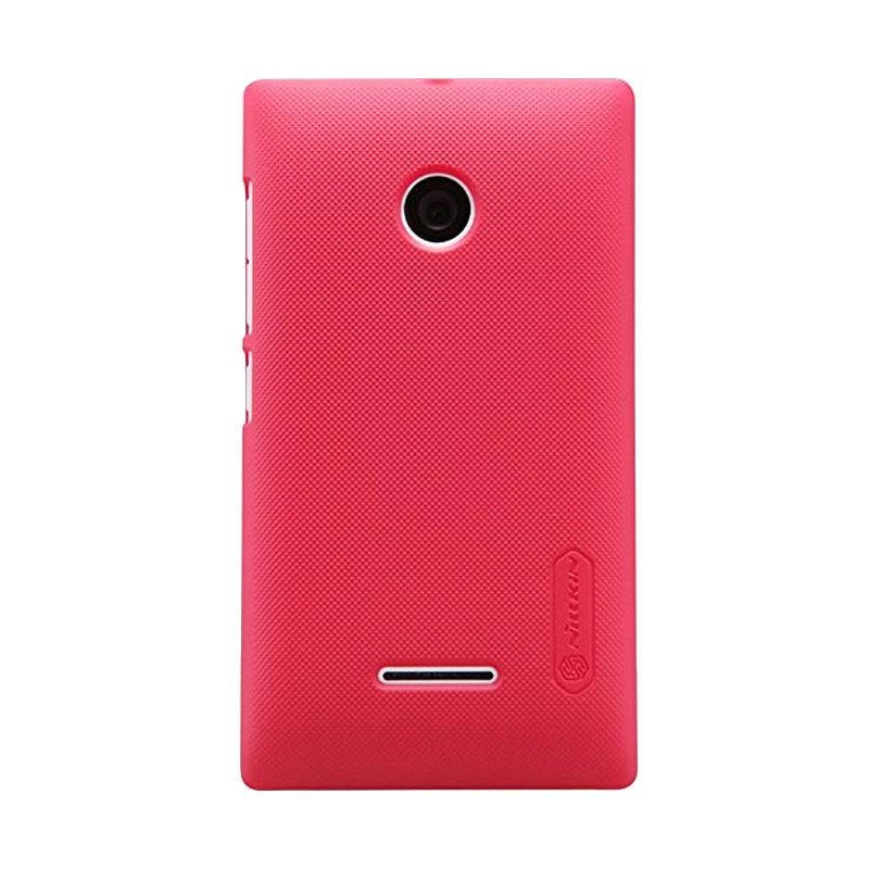 Nillkin Super Frosted Shield Red Casing for Nokia Lumia 532