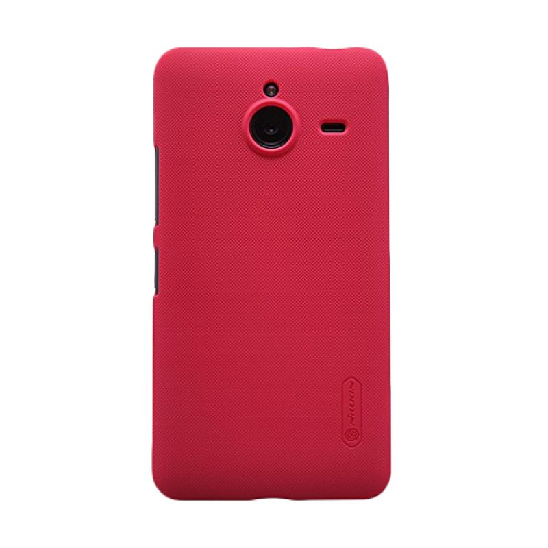 Nillkin Super Frosted Shield Red Casing for Nokia Lumia 640 XL