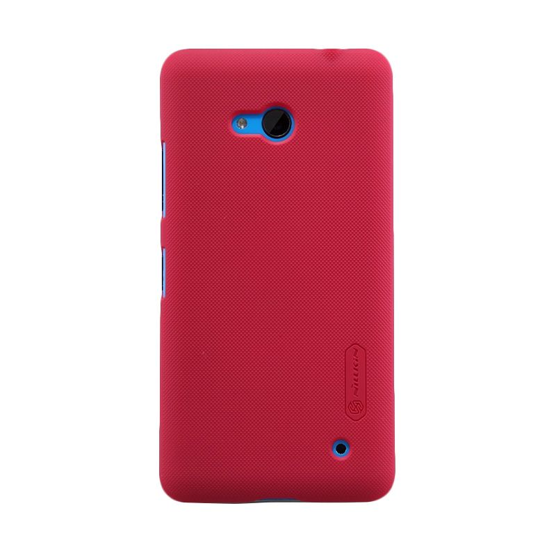 Nillkin Super Frosted Shield Red Casing for Nokia Lumia 640