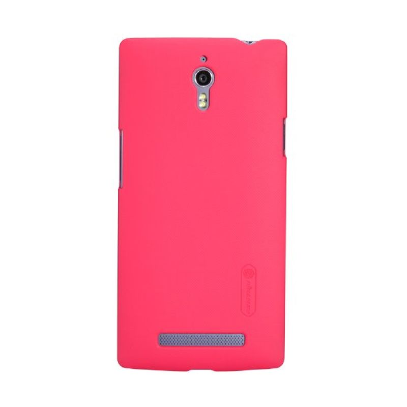Nillkin Super Frosted Shield Red Casing for Oppo R7 Plus