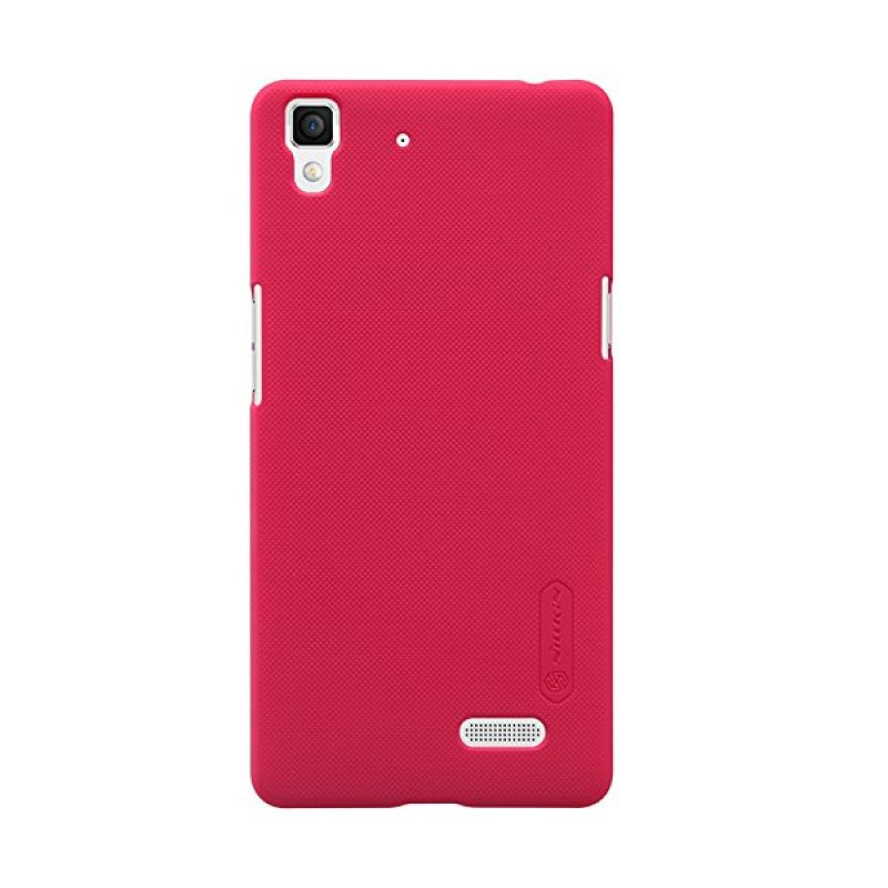 Nillkin Super Frosted Shield Red Casing for Oppo R7