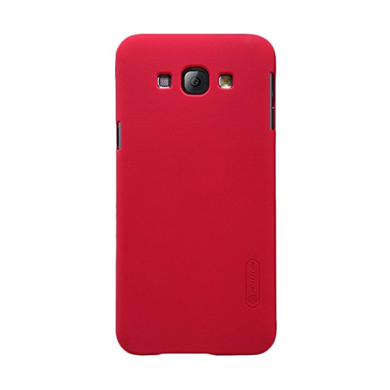 Nillkin Super Frosted Shield Red Casing for Samsung Galaxy A8 A8000