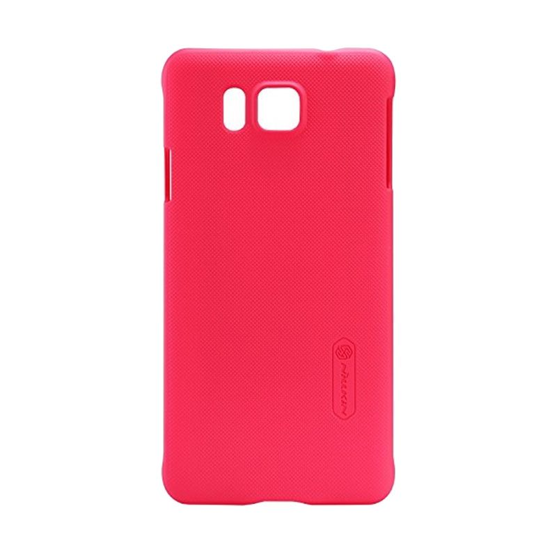 Nillkin Super Frosted Shield Red Casing for Samsung Galaxy Alpha