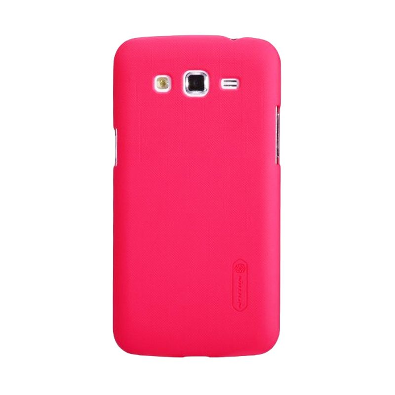 Nillkin Super Frosted Shield Red Casing for Samsung Galaxy Grand 2 G7102