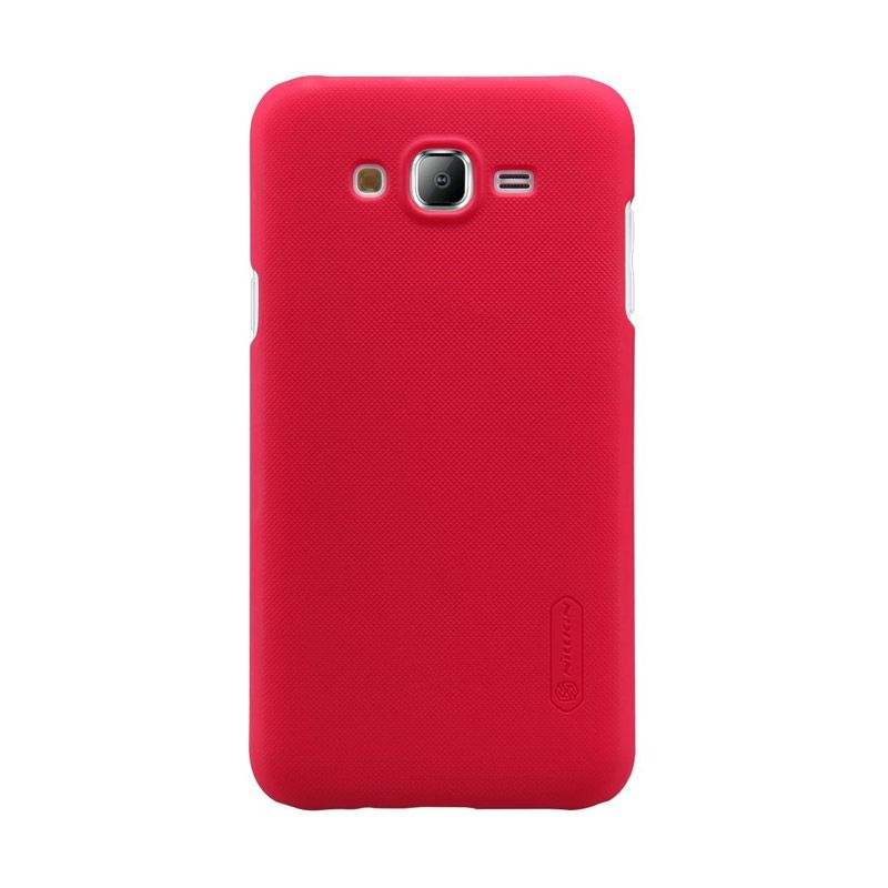 Nillkin Super Frosted Shield Red Casing for Samsung Galaxy J5