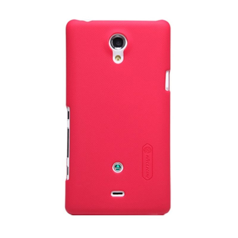 Nillkin Super Frosted Shield Red Casing for Sony Xperia T