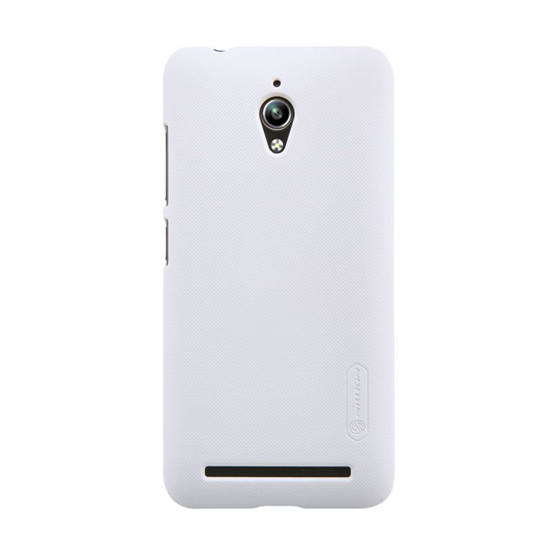 Nillkin Super Frosted Shield White Casing for Asus Zenfone Go ZC500TG