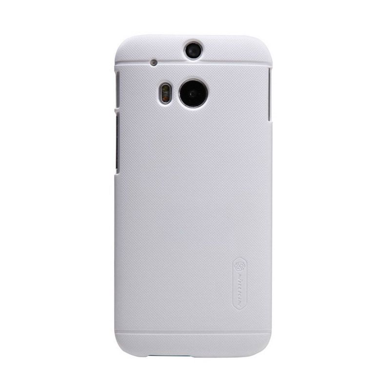 Nillkin Super Frosted Shield White Casing for HTC One M8