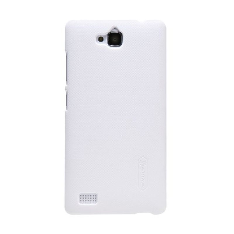 Nillkin Super Frosted Shield White Casing for Huawei Honor 3C