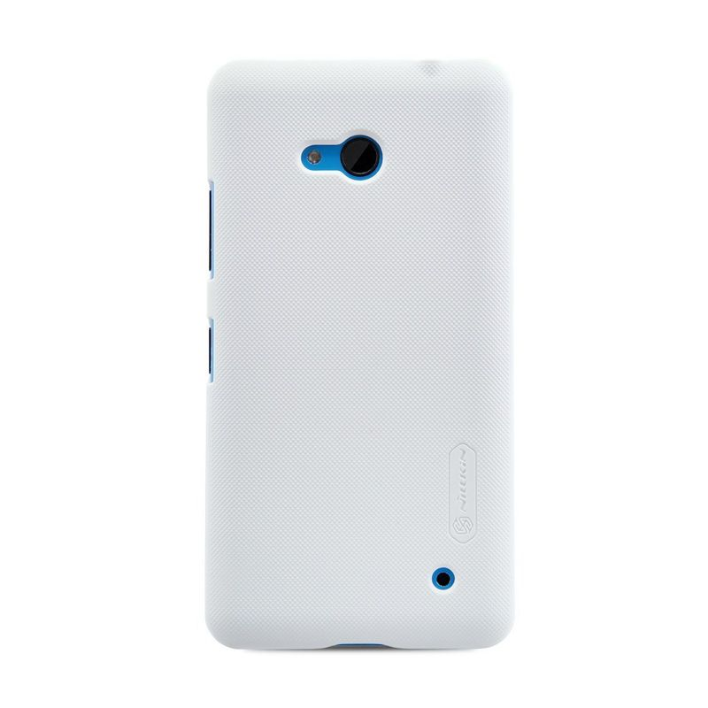 Nillkin Super Frosted Shield White Casing for Nokia Lumia 640