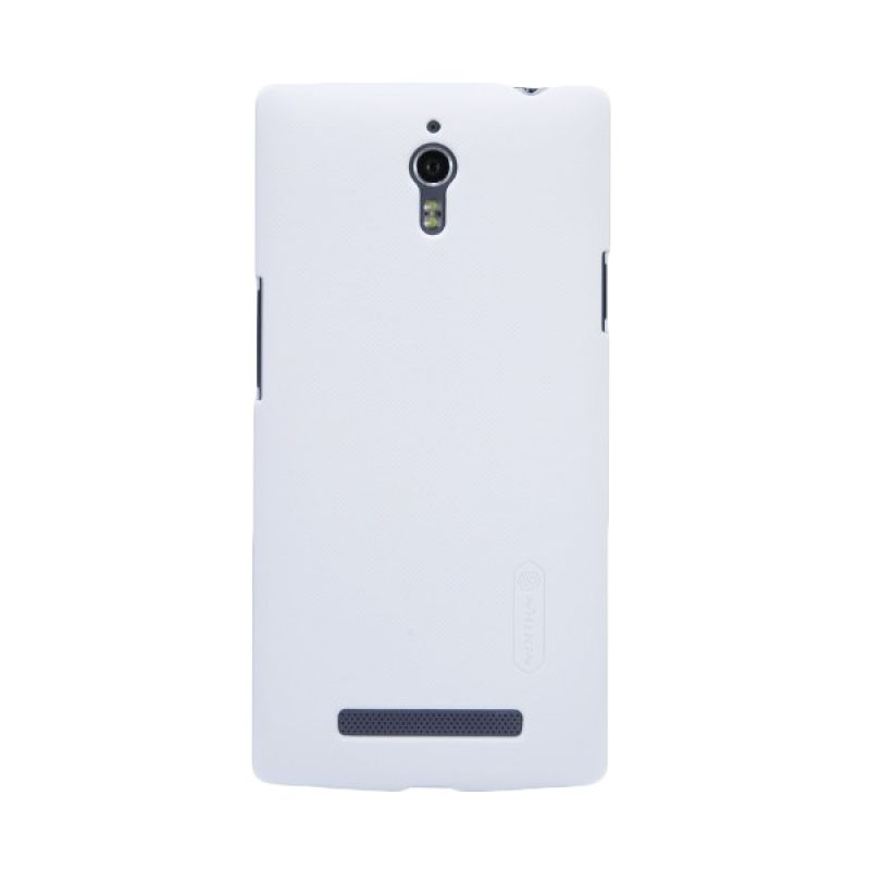 Nillkin Super Frosted Shield White Casing for Oppo R7 Plus