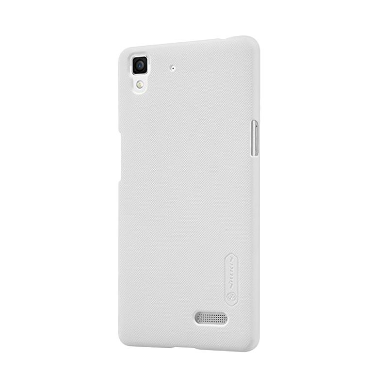 Nillkin Super Frosted Shield White Casing for Oppo R7