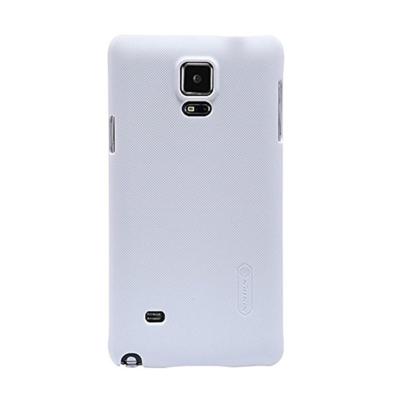 Nillkin Super Frosted Shield White Casing for Samsung Galaxy Note 4