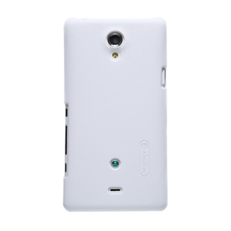 Nillkin Super Frosted Shield White Casing for Sony Xperia T