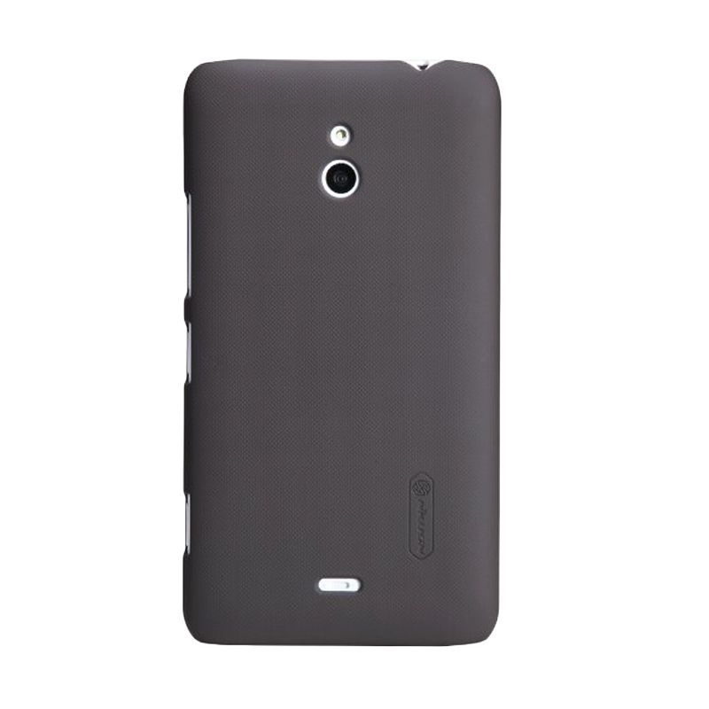 NILLKIN Super Shield Hardcase Brown Casing for Nokia Lumia 1320