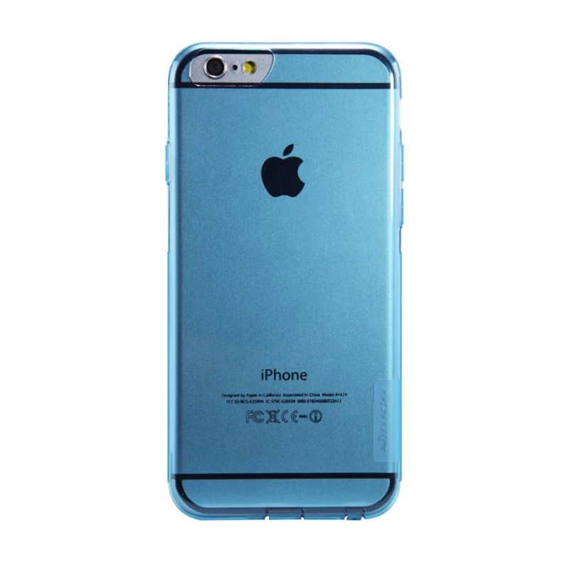 Nillkin Nature TPU Blue Casing for iPhone 6 Plus