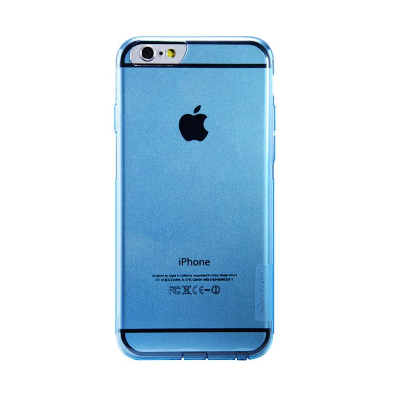 Nillkin Nature TPU Blue Casing for iPhone 6