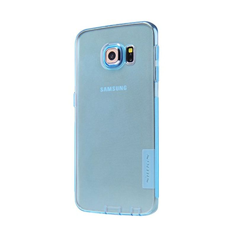 Nillkin Nature TPU Blue Casing for Samsung Galaxy S6 Edge G925
