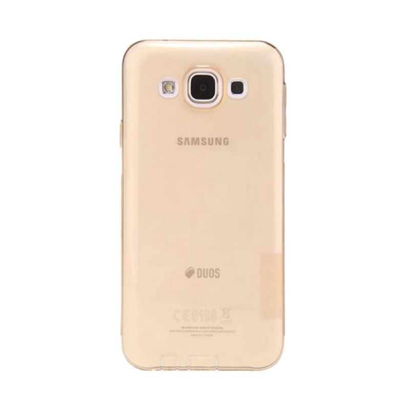 Nillkin Nature TPU Brown Casing for Samsung Galaxy E5 E500