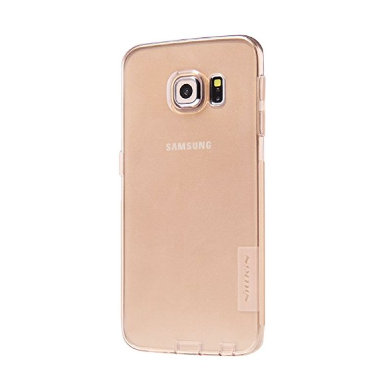 Nillkin Nature TPU Brown Casing for Samsung Galaxy S6 Edge G925