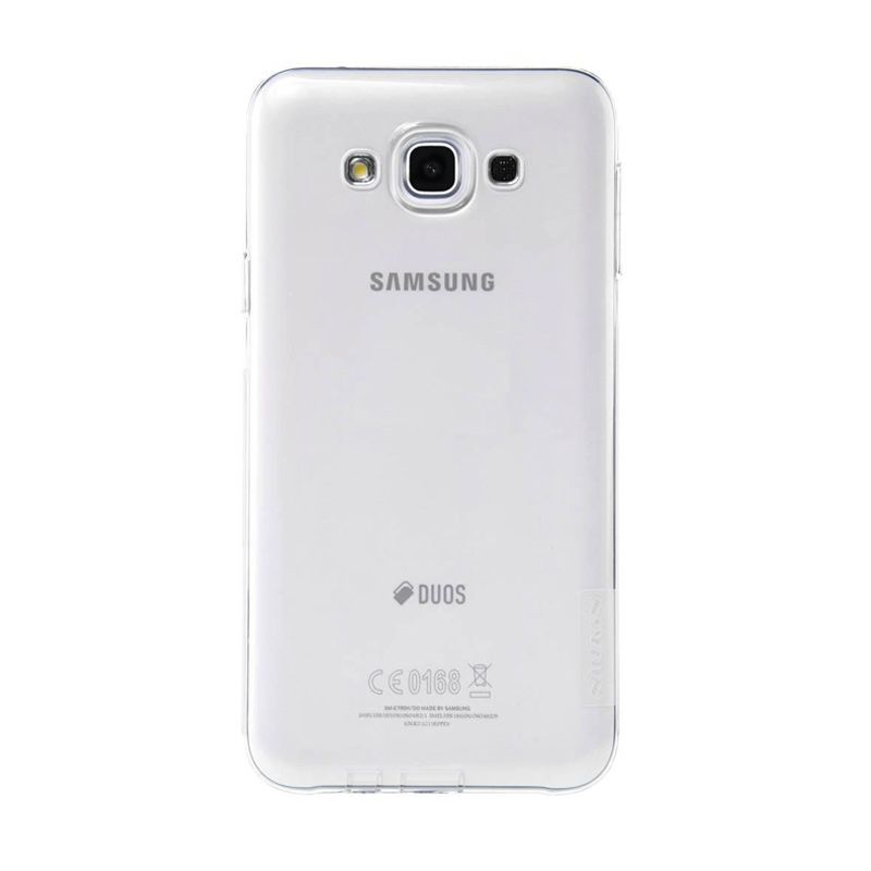 Nillkin Nature TPU White Casing for Samsung Galaxy E7 E700