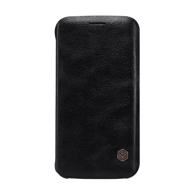Nillkin QIN Leather Black Casing for Samsung Galaxy S6 Edge G925