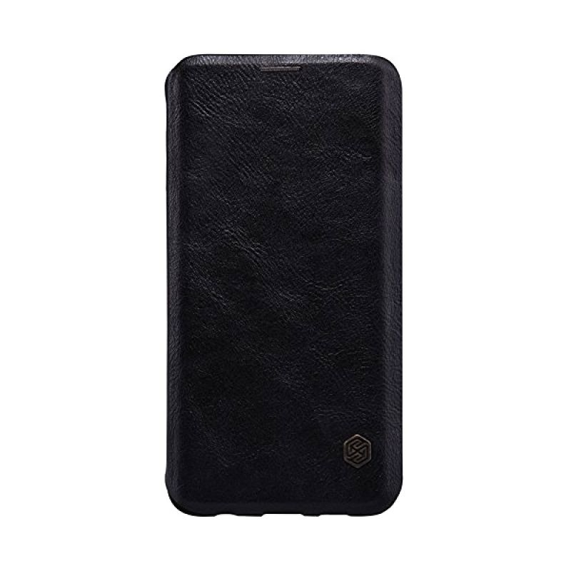 Nillkin QIN Leather Black Casing for Samsung Galaxy S6 Edge Plus